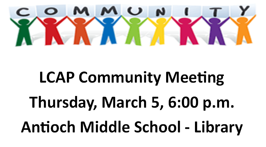 Don't Miss Our LCAP Community Meeting #3